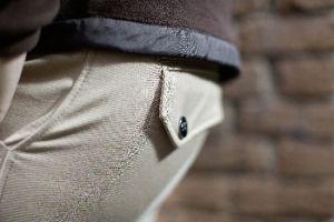 Pantalon homme NORTH POLE, Fond peau