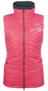 Gilet DIAMONDS PINK STAR