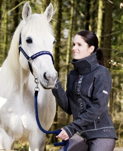 veste polaire adulte KUFSTEIN HKM - Vestes d'équitation polaires