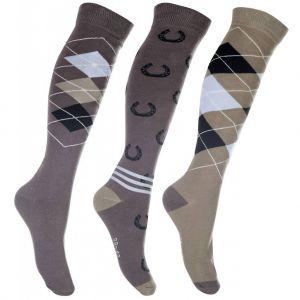 Set de 3 paires de chaussettes