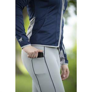 Leggings équitation Equilibrio Style, fond silicone
