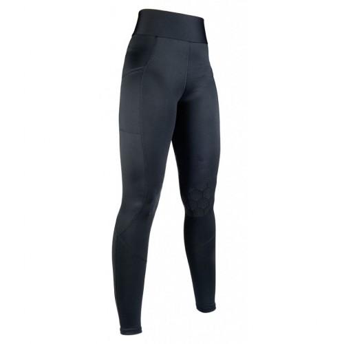 Leggings Ceinture Haute STYLE basanes silicone - Pantalons d'équitation à basanes