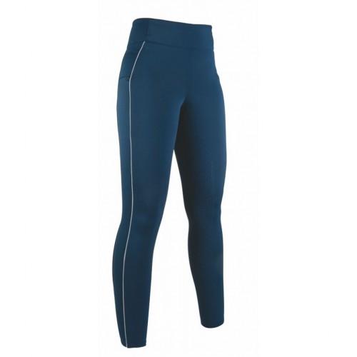 Leggings équitation Equilibrio Style, fond silicone - Pantalons d'équitation à fond intégral
