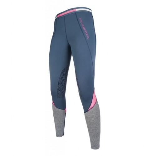 Leggings equitation ACTIVE 19 Silikon - Pantalons d'équitation à basanes