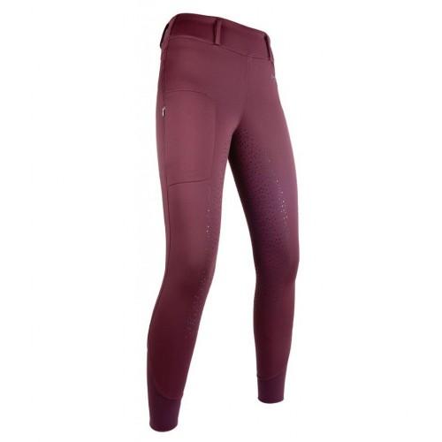 Leggings Hiver MORELLO fond silicone - Pantalons d'équitation d'hiver
