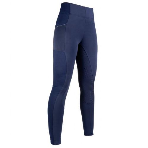 Leggings MESH Style fond silicone - Pantalons d'équitation à fond intégral