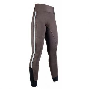 Leggings Silver Stripe Style, fond silicone