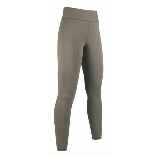 Leggings YOUNG Style basanes silicone - Pantalons d'équitation à basanes