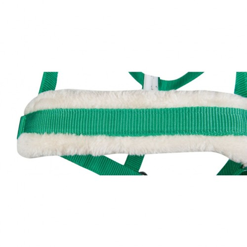 Licol nylon/teddy BISCHOFSHOFEN - Licols en nylon