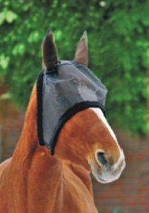 Masque anti-mouches bords peluche HKM