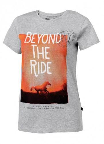Tee-shirt 13 ans SUNSET Mountain Horse - T-shirts & polos d'équitation enfant