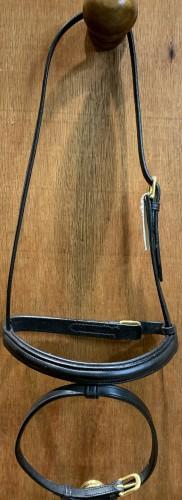 Muserolle noire Poney - Bridons d'équitation