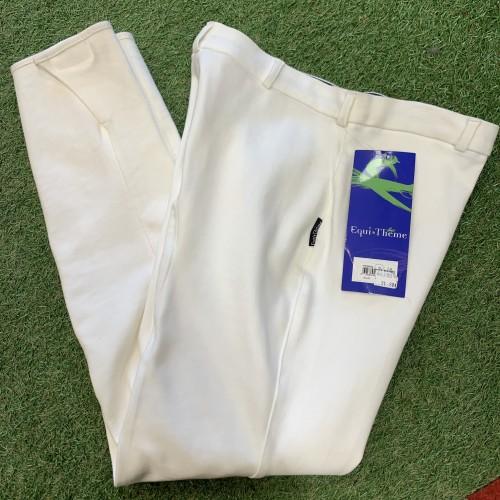 Pantalon 44  95% COTON - Pantalons d'équitation à basanes