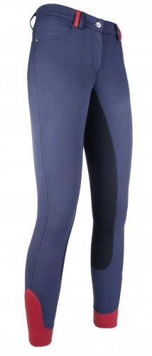 Pantalon COUNTY PRINT fond peau - Pantalons d'équitation à fond intégral