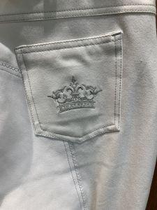 "Pantalon 42 fond peau ""Couronne"""