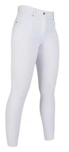 Pantalon 5 poches STYLE fond silicone - Pantalons d'équitation à fond intégral