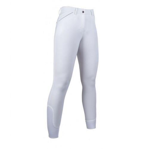Pantalon d'équitation PIPING 1 basanes silicone - Pantalons d'équitation à basanes
