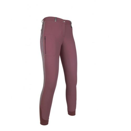 Pantalon équitation VELLUTO STRIPE EVA fond silicone - Pantalons d'équitation à fond intégral