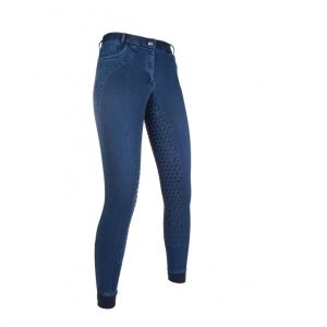 Pantalon équitation GLORENZA denim Silikon