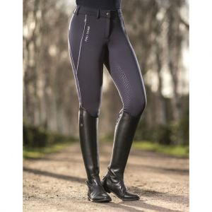 Pantalon équitation  Junior Hiver Softshell SPEED fond sililkon