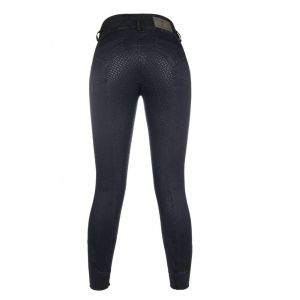 Pantalon equitation VELLUTO JEANS fond silicone