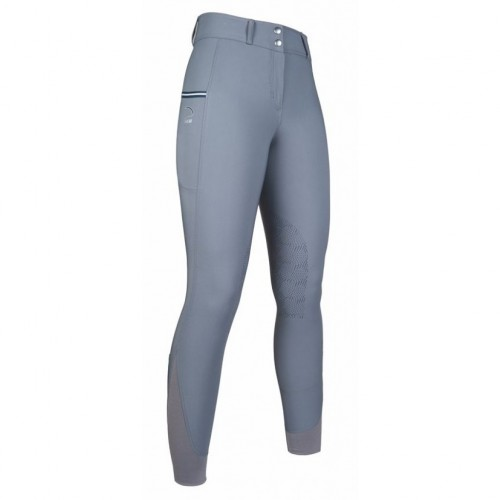 Pantalon Junior Comfort FLO Style - Pantalons d'équitation à basanes enfant