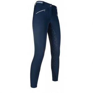 Pantalon équitation Elemento Stripe fond silicone