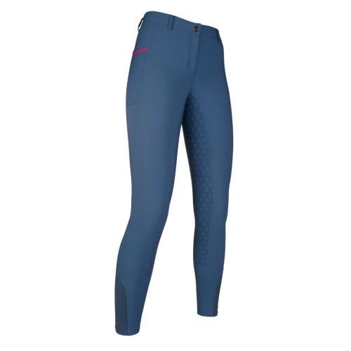 Pantalon équitation Elemento TIA fond silicone - Pantalons d'équitation à fond intégral