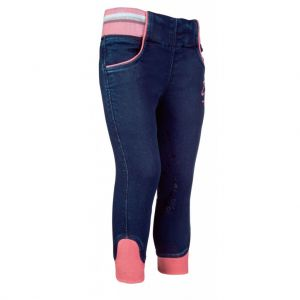 Pantalon equitation enfant JULIA DENIM