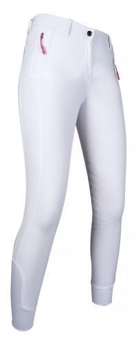 Pantalon Junior basanes Silicone ZOE ACTIVE 19 - Pantalons d'équitation à basanes enfant