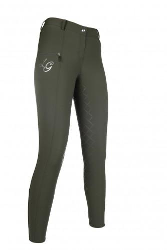 Pantalon équitation GLORENZA PAM fond silicone - Pantalons d'équitation à fond intégral