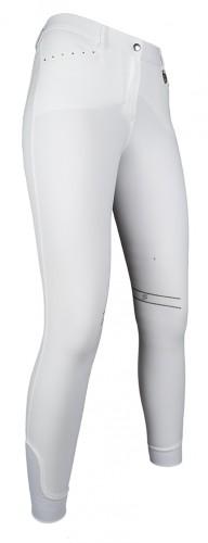 Pantalon LIMONI PAM Horse basanes silicone - Pantalons d'équitation à basanes