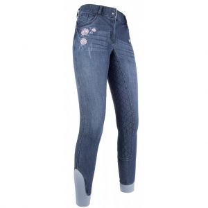 Pantalon FLOWER DENIM Silikon