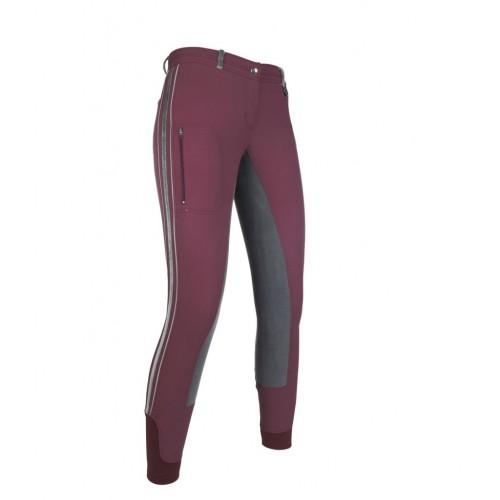 Pantalon fond peau VELLUTO Stripe EVA - Pantalons d'équitation à fond intégral