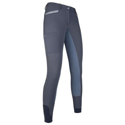 Pantalon équitation Mondiale EVA fond peau - Pantalons d'équitation à fond intégral