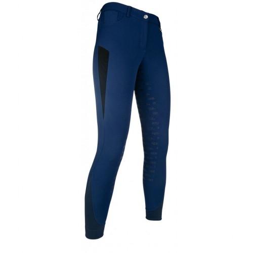 Pantalon d'équitation Junior fond silicone ZOE Advanced - Pantalons à fond intégral enfant