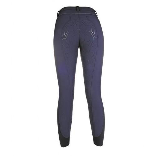 Pantalon Hiver Junior STYLE fond silikon - Pantalons d'équitation d'hiver enfant