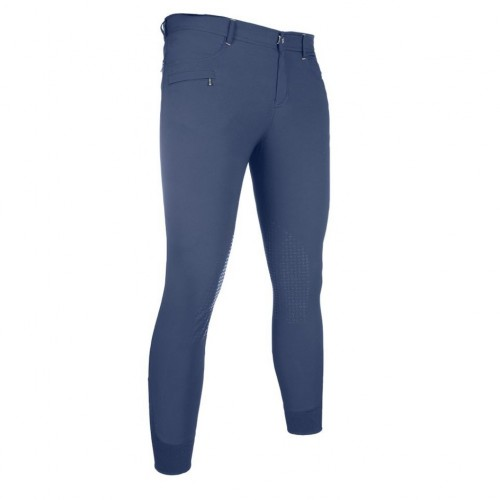 Pantalon equitation homme San Lorenzo basanes silicone - Pantalons d'équitation homme