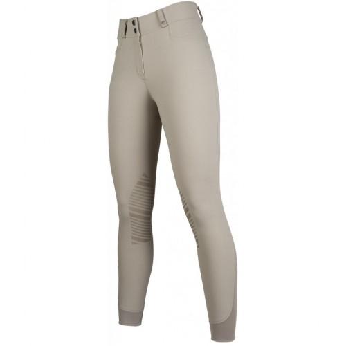 Pantalon HUNTER basanes silicone - Pantalons d'équitation à basanes