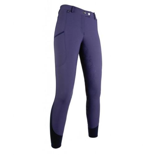 Pantalon equitation MORELLO PAM fond silicone - Pantalons d'équitation à fond intégral