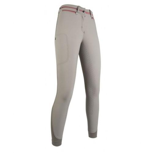 Pantalon TOPAS CM Style fond silicone - Pantalons d'équitation d'hiver