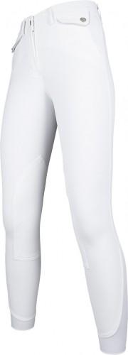 Pantalon Venezia Eva Flap basanes tissu - Pantalons d'équitation à basanes