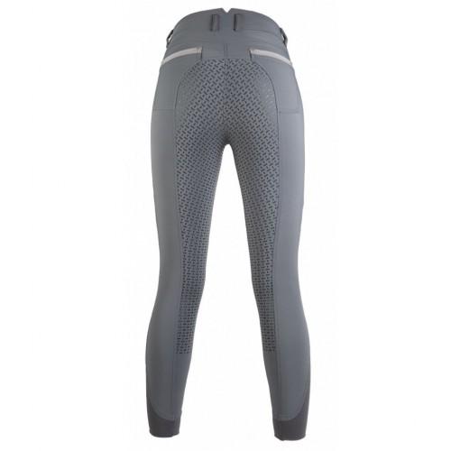 Pantalon équitation YOUNG Style fond silicone - Pantalons d'équitation à fond intégral