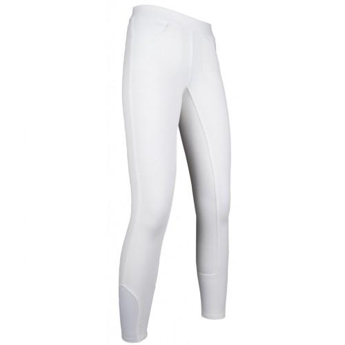 Leggings equitation junior YVI - Pantalons d'équitation à basanes enfant
