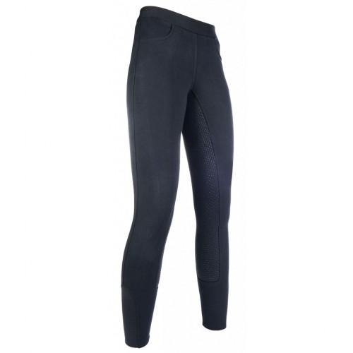 Leggings equitation YVI silikon - Pantalons d'équitation à basanes
