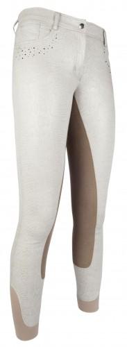 Pantalon RIMINI GLITTER Fond peau