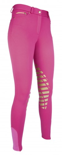 Pantalon SOFT Silikon - Pantalons d'équitation à basanes