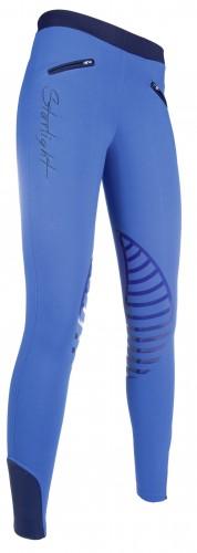 Pantalon Junior STARLIGHT Silikon - Pantalons d'équitation à basanes enfant