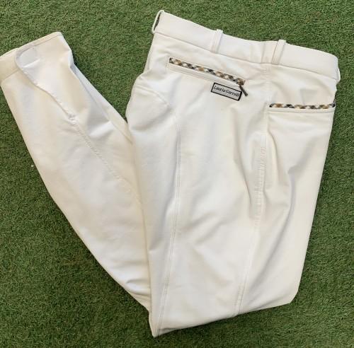 """Pantalon 42 """"Valence Plain"""" - Pantalons d'équitation à basanes"""