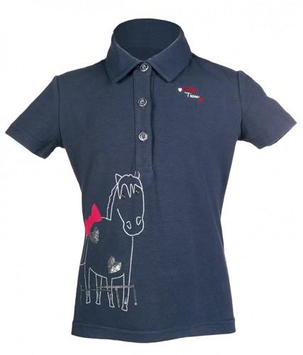 Polo equitation enfant PICCOLA - T-shirts & polos d'équitation enfant